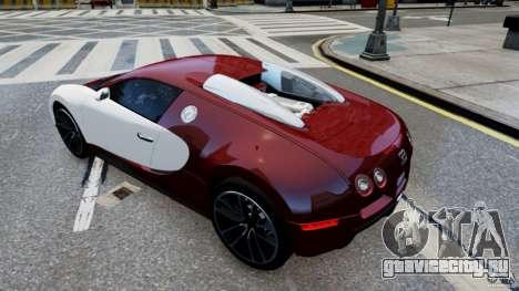 Bugatti Veyron 16.4 v1.0 wheel 1 для GTA 4 вид справа