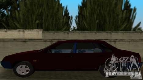 ВАЗ 21099 для GTA Vice City вид сзади