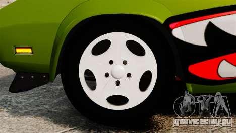 Dodge Charger RT SharkWide для GTA 4 вид сзади