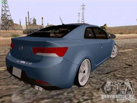 Kia Cerato Coupe 2011 для GTA San Andreas вид слева