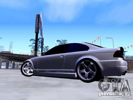 BMW 318i E46 Drift Style для GTA San Andreas вид сзади