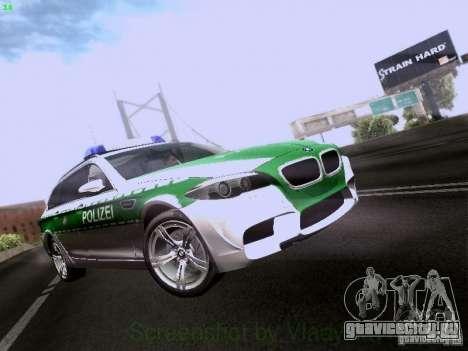 BMW M5 Touring Polizei для GTA San Andreas