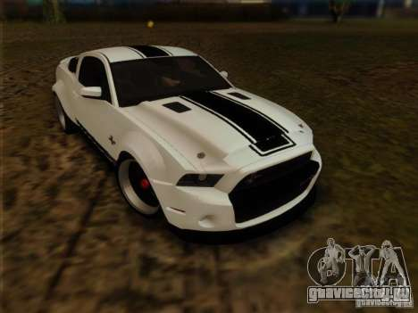 Ford Shelby GT500 SuperSnake NFS The Run Edition для GTA San Andreas