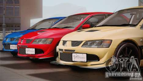 Mitsubishi Lancer Evolution VIII MR Edition для GTA San Andreas