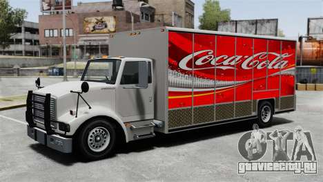 Новая реклама для грузовика Benson для GTA 4 пятый скриншот