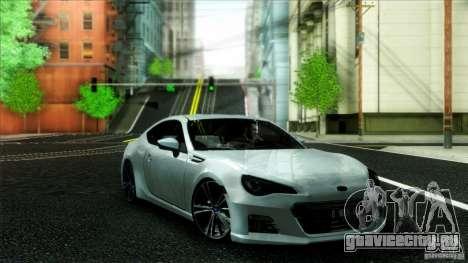Subaru BRZ v2 для GTA San Andreas