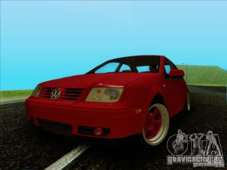 Volkswagen Bora HellaFlush для GTA San Andreas