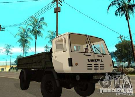 КАЗ 4540 самосвал для GTA San Andreas