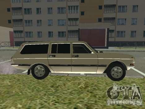 ГАЗ 24-12 Волга для GTA San Andreas вид сзади слева
