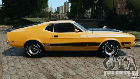 Ford Mustang Mach 1 1973 v2 для GTA 4 вид слева