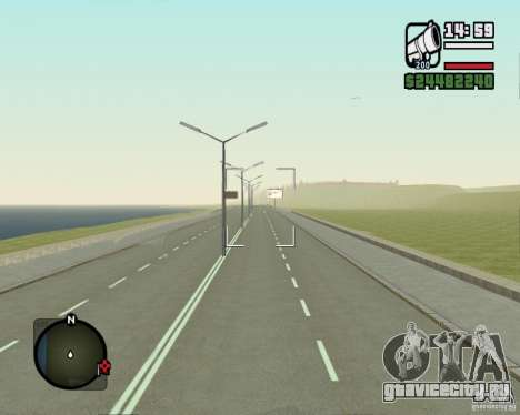 Дорога Лыткарино-Нижегородск для GTA San Andreas
