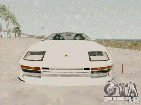 Ferrari Testarossa Custom для GTA San Andreas вид справа