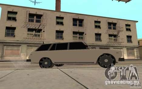 ВАЗ 2104 для GTA San Andreas вид снизу