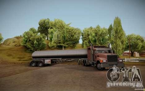 Прицеп от Mack Pinnacle Rawhide Edition для GTA San Andreas вид сзади