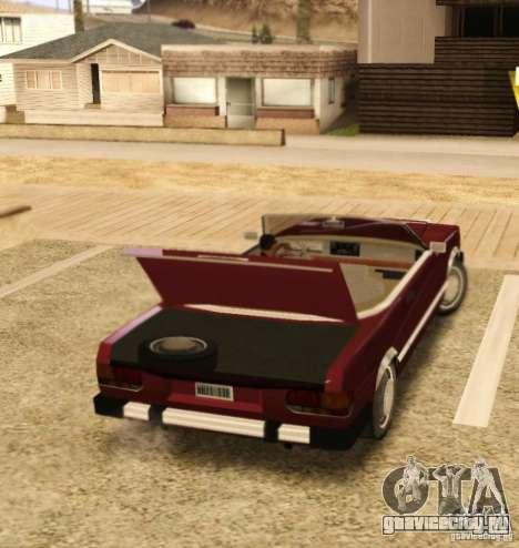 Feltzer HD v2 для GTA San Andreas вид справа