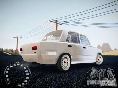 ВАЗ-2101 Drift Edition для GTA 4 вид справа