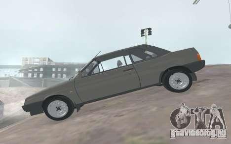 ВАЗ 2108 Наташа для GTA San Andreas вид слева