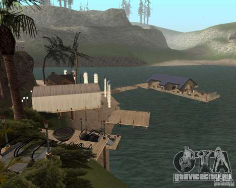 Вилла в Рыбацкой лагуне для GTA San Andreas четвёртый скриншот
