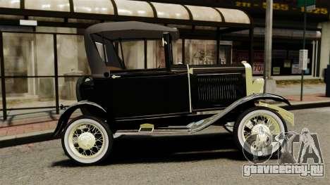 Ford Model T 1926 для GTA 4 вид слева