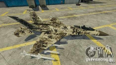 Fighterjet для GTA 4 вид изнутри