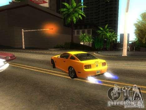 Ford Shelby GT 2008 для GTA San Andreas вид сбоку