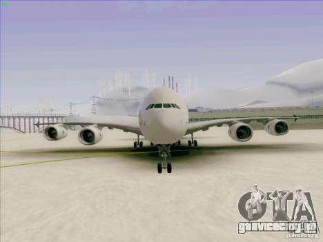 Airbus A380-800 для GTA San Andreas вид сбоку