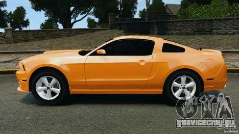 Ford Mustang 2013 Police Edition [ELS] для GTA 4 вид слева