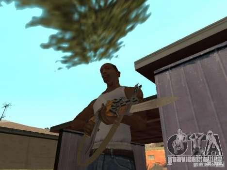 АК 47 со штык-ножом HD для GTA San Andreas второй скриншот