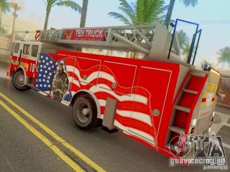 Seagrave FDNY Ladder 10 для GTA San Andreas вид слева