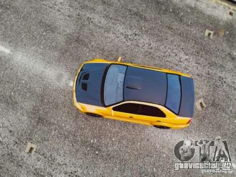 Mitsubishi Lancer Evo VI GSR для GTA 4 вид справа