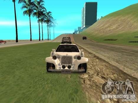 Mitsuoka Le-Seyde для GTA San Andreas вид изнутри