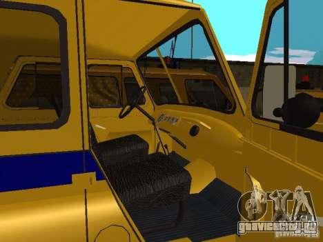 УАЗ 3151 Милиция для GTA San Andreas вид справа