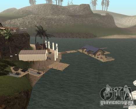 Вилла в Рыбацкой лагуне для GTA San Andreas второй скриншот