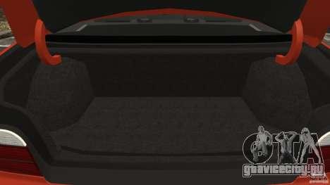BMW M3 E36 для GTA 4 вид снизу