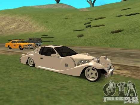 Mitsuoka Le-Seyde для GTA San Andreas вид слева