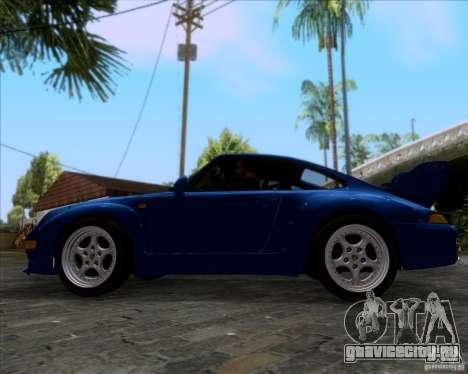 Porsche 911 GT2 RWB Dubai SIG EDTN 1995 для GTA San Andreas вид изнутри