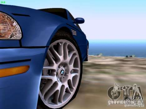 BMW M3 Tunable для GTA San Andreas вид сзади