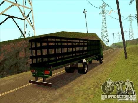 Ford Cargo для GTA San Andreas вид справа