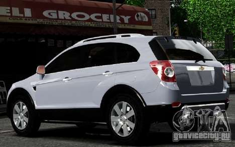 Chevrolet Captiva 2010 для GTA 4 вид справа
