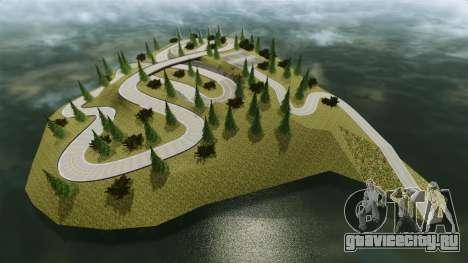 Edem Hill Drift Track для GTA 4