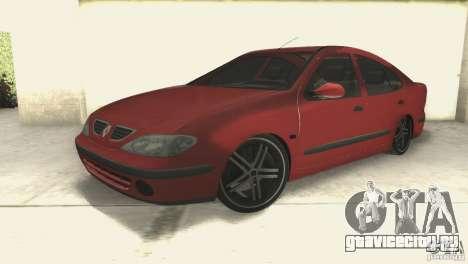 Renault Megane 2000 для GTA San Andreas вид справа