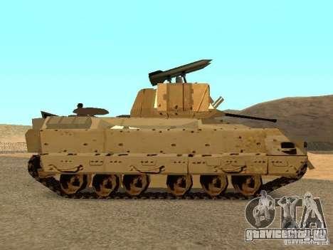 M2A3 Брэдли для GTA San Andreas вид слева