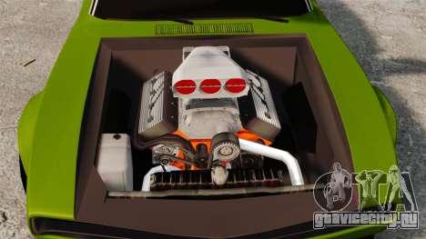 Dodge Charger RT SharkWide для GTA 4 вид изнутри