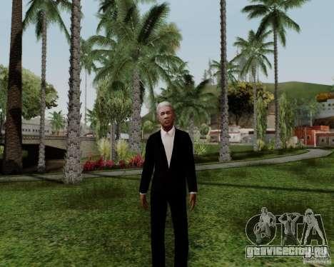 Мorgan Freeman для GTA San Andreas третий скриншот