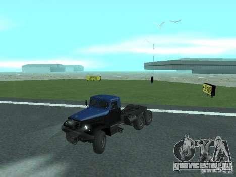 ЯАЗ 214 для GTA San Andreas вид сзади слева