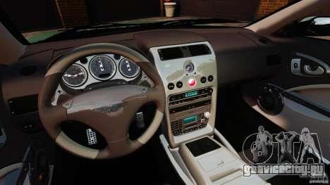 Aston Martin Vanquish 2001 для GTA 4 вид сзади