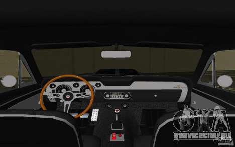 Shelby GT500 Eleanor для GTA Vice City вид сбоку
