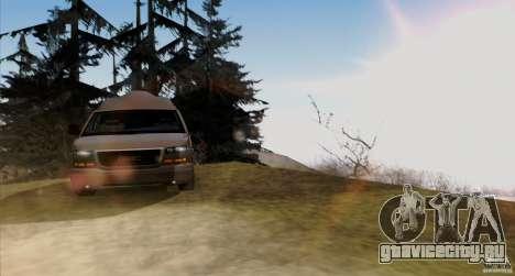 GMC Savana AWD для GTA San Andreas вид изнутри