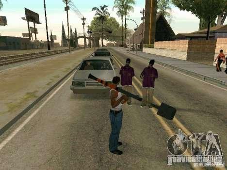Лопатомёт для GTA San Andreas пятый скриншот