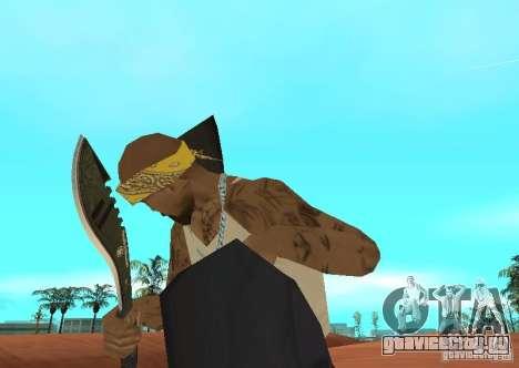 Khukuri для GTA San Andreas второй скриншот